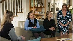 Mackenzie Hargreaves, Harlow Robinson, Roxy Willis, Terese Willis in Neighbours Episode 8492