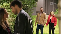 Bea Nilsson, Nathan Packard, Kyle Canning, Roxy Willis in Neighbours Episode 8492