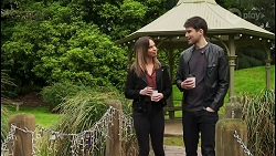 Bea Nilsson, Nathan Packard in Neighbours Episode 8493
