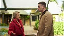Roxy Willis, Kyle Canning in Neighbours Episode 8493