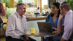 Karl Kennedy, Audrey Hamilton, Toadie Rebecchi in Neighbours Episode 8493