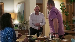 Audrey Hamilton, Karl Kennedy, Toadie Rebecchi in Neighbours Episode 8493