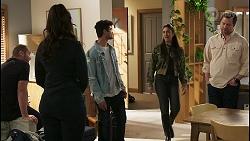 Toadie Rebecchi, Dipi Rebecchi, Jay Rebecchi, Yashvi Rebecchi, Shane Rebecchi in Neighbours Episode 8494