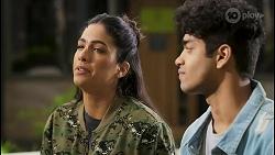 Yashvi Rebecchi, Jay Rebecchi in Neighbours Episode 8494