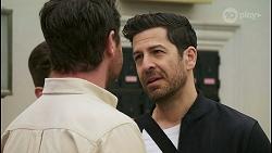 Hendrix Greyson, Shane Rebecchi, Pierce Greyson in Neighbours Episode 8494