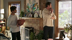 Jay Rebecchi, Shane Rebecchi in Neighbours Episode 8494