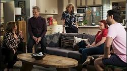 Terese Willis, Paul Robinson, Jane Harris, Nicolette Stone, David Tanaka in Neighbours Episode 8495