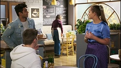 Jay Rebecchi, Hendrix Greyson, Harlow Robinson in Neighbours Episode 8495