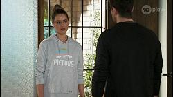 Chloe Brennan, Pierce Greyson in Neighbours Episode 8495