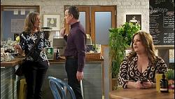 Jane Harris, Paul Robinson, Terese Willis in Neighbours Episode 8496