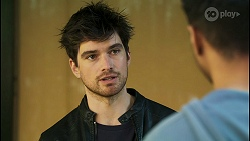 Nathan Packard, Levi Canning in Neighbours Episode 8497