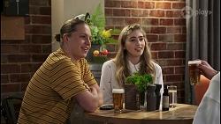 Richie Amblin, Mackenzie Hargreaves, Hendrix Greyson in Neighbours Episode 8497