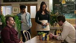 Toadie Rebecchi, Jay Rebecchi, Dipi Rebecchi, Shane Rebecchi in Neighbours Episode 8497