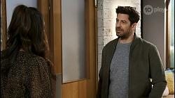 Dipi Rebecchi, Pierce Greyson in Neighbours Episode 8497