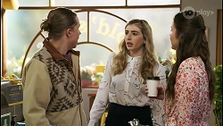 Richie Amblin, Mackenzie Hargreaves, Corinne Booth in Neighbours Episode 8497