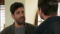 Pierce Greyson, Shane Rebecchi in Neighbours Episode 8498