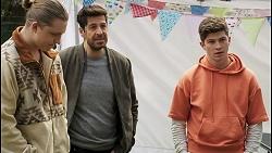 Richie Amblin, Pierce Greyson, Hendrix Greyson in Neighbours Episode 8498