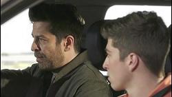 Pierce Greyson, Hendrix Greyson in Neighbours Episode 8499