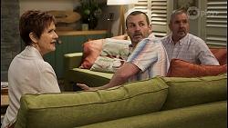 Susan Kennedy, Toadie Rebecchi, Karl Kennedy in Neighbours Episode 8499
