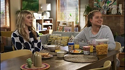 Mackenzie Hargreaves, Harlow Robinson in Neighbours Episode 8499