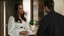 Dipi Rebecchi, Pierce Greyson in Neighbours Episode 8500
