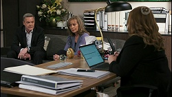 Paul Robinson, Jane Harris, Terese Willis in Neighbours Episode 8500
