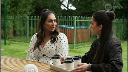 Dipi Rebecchi, Yashvi Rebecchi in Neighbours Episode 8500