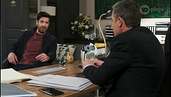 Pierce Greyson, Paul Robinson in Neighbours Episode 8500