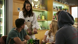 Levi Canning, Dipi Rebecchi, Roxy Willis, Kyle Canning in Neighbours Episode 8500