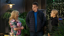 Sheila Canning, Kyle Canning, Roxy Willis in Neighbours Episode 8502