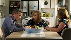 Paul Robinson, Jane Harris, Terese Willis in Neighbours Episode 8502