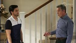 David Tanaka, Paul Robinson in Neighbours Episode 8502
