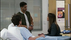 Nathan Packard, Levi Canning, Bea Nilsson in Neighbours Episode 8503