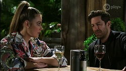 Chloe Brennan, Pierce Greyson in Neighbours Episode 8504