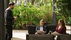 Pierce Greyson, Paul Robinson, Terese Willis in Neighbours Episode 8504