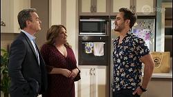 Paul Robinson, Terese Willis, Aaron Brennan in Neighbours Episode 8505