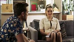 Aaron Brennan, Chloe Brennan in Neighbours Episode 8505