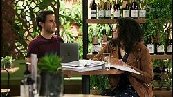 David Tanaka, Audrey Hamilton in Neighbours Episode 8505