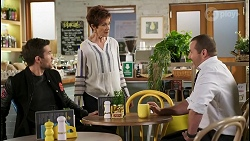 Ned Willis, Susan Kennedy, Toadie Rebecchi in Neighbours Episode 8505