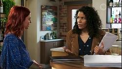 Nicolette Stone, Audrey Hamilton in Neighbours Episode 8505
