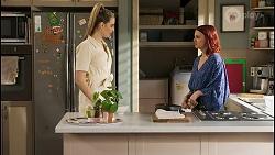 Chloe Brennan, Nicolette Stone in Neighbours Episode 8505