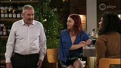 Karl Kennedy, Nicolette Stone, Audrey Hamilton in Neighbours Episode 8506