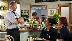 Toadie Rebecchi, Audrey Hamilton, Nicolette Stone in Neighbours Episode 8506