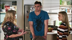Sheila Canning, Kyle Canning, Roxy Willis in Neighbours Episode 8506