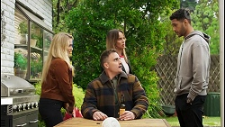 Roxy Willis, Kyle Canning, Bea Nilsson, Levi Canning in Neighbours Episode 8507