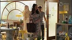 Mackenzie Hargreaves, Dipi Rebecchi, Jay Rebecchi in Neighbours Episode 8508