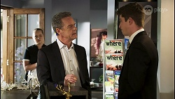 Harlow Robinson, Paul Robinson, Hendrix Greyson in Neighbours Episode 8508