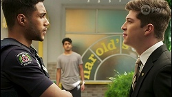 Levi Canning, Jay Rebecchi, Hendrix Greyson in Neighbours Episode 8508