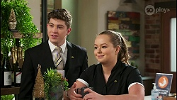 Hendrix Greyson, Harlow Robinson in Neighbours Episode 8508
