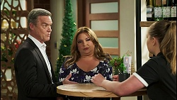 Paul Robinson, Terese Willis, Harlow Robinson in Neighbours Episode 8508